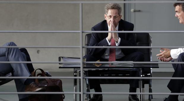 Hans-Georg Maassen, former head of the German Federal Office for the Protection of the Constitution (Michael Sohn/AP)