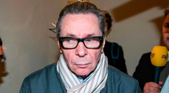 Accused: Jean-Claude Arnault arrives at the court in Stockholm. Photo: AFP/Getty