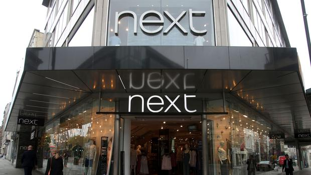 Next is expected to report higher interim profit (Yui Mok/PA)
