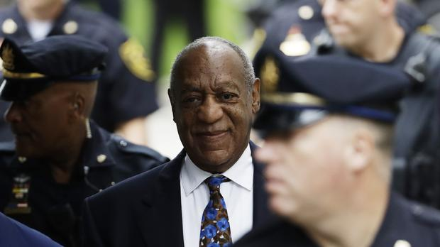 Bill Cosby arrives for his sentencing hearing (Matt Slocum/AP)