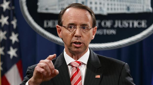 Rod Rosenstein (Evan Vucci/AP)