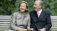 Belgium's Queen Paola and Albert II. Photo: Virginia Mayo/AP