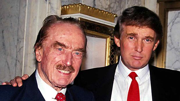 Fred and Donald Trump.