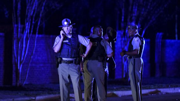 One officer killed and six injured in South Carolina shooting