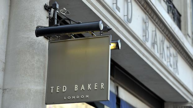 Fashion chain Ted Baker has become the latest fashion firm to reveal a hit from beleaguered department store chain House of Fraser as it posted lower half-year sales and profits.