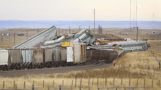 Freight train crash in Wyoming leaves one person dead - Independent ie