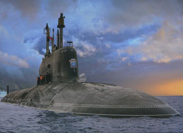 PUTIN'S PUSH: The Russian submarine Severodvinsk. Russian submarines are traditionally the pride of their fleet