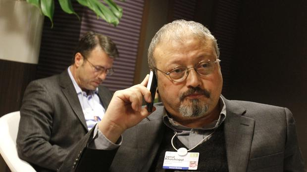 Jamal Khashoggi (AP Photo/Virginia Mayo, File)