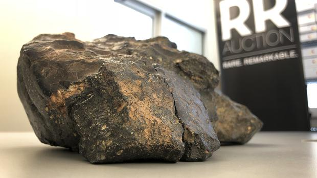 The lunar meteorite was discovered in Africa (AP Photo/Rodrique Ngowi)