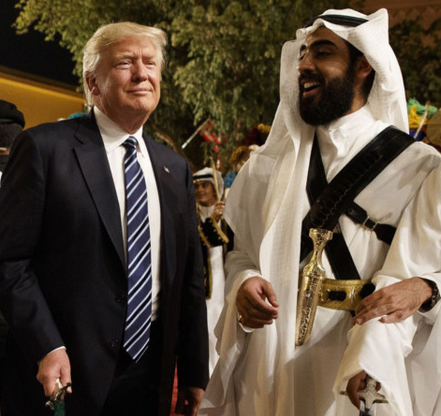 Best of Friends: Donald Trump's first overseas visit as US president was to Saudi Arabia in May 2017