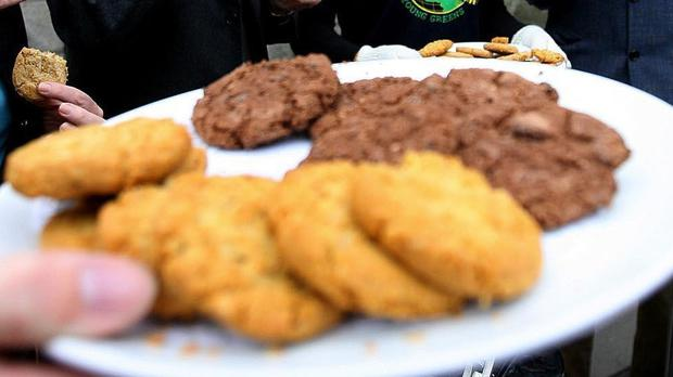 The student and a friend baked the biscuits and shared them with classmates, police said (Julien Behal/PA)