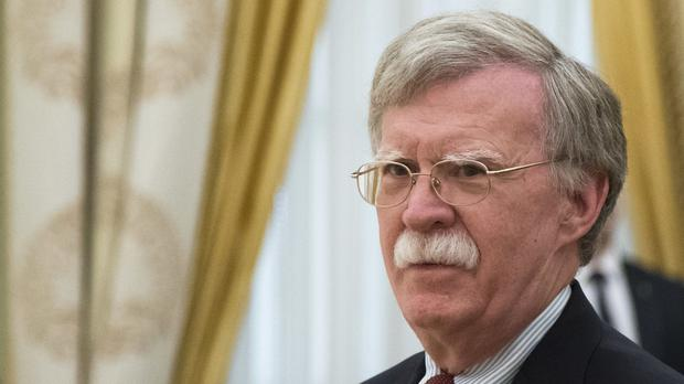 US national security adviser John Bolton (AP Photo/Alexander Zemlianichenko, Pool)