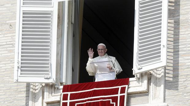 Pope Francis is thought by some to be sympathetic to married men joining the priesthood (AP Photo/Gregorio Borgia)
