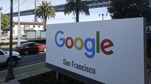 Hundreds of Google employees are expected to temporarily leave their jobs in a mass walkout (Michael Liedtke/AP)