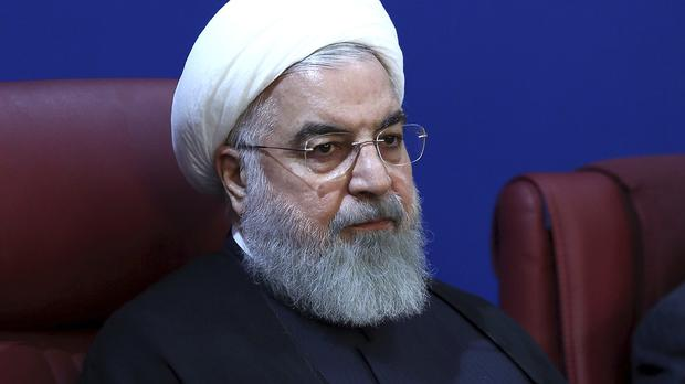 Iranian president warns of 'war situation' as US reimposes