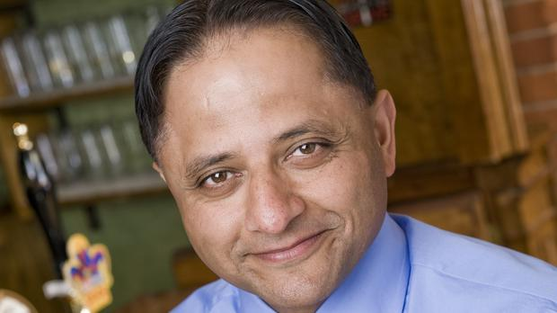 Greene King chief executive Rooney Anand is to call time on a near 14-year tenure at the helm after announcing plans to stand down next spring (Greene King/PA)
