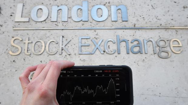 Shares ended in the red on Tuesday (Kirsty O'Connor/PA)