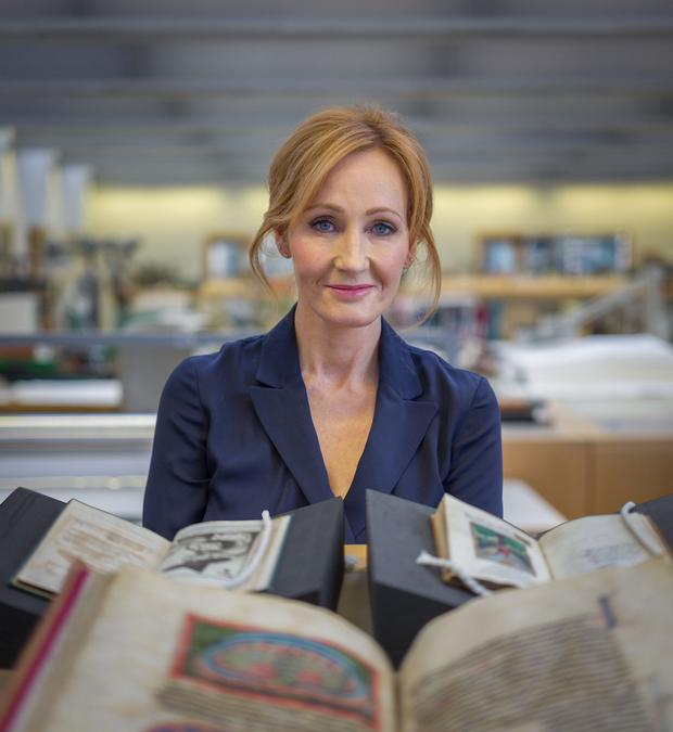 Claim: Harry Potter writer JK Rowling has launched a civil action