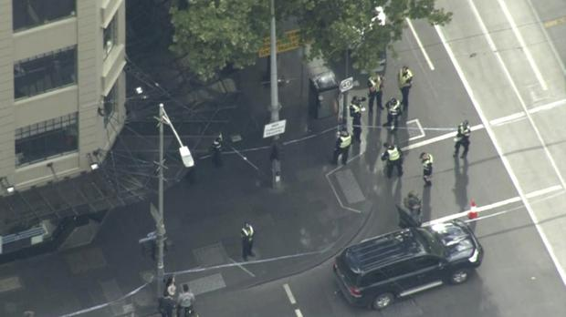 MAYHEM IN MELBOURNE: One dead in frenzied terror attack