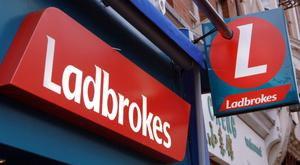 Ladbrokes operates 141 of its own outlets in Ireland, having closed more than 50 in 2015 following an examinership process. Photo: PA