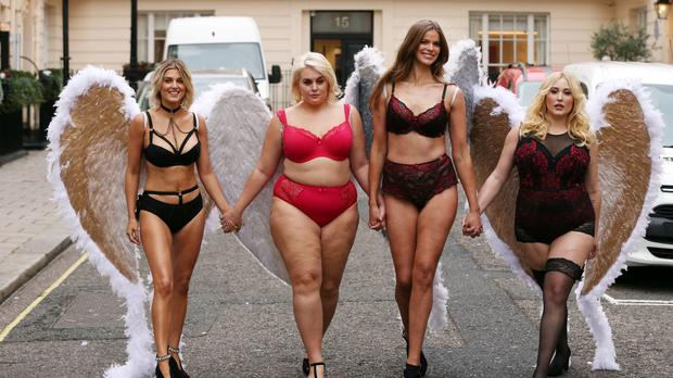 The owner of Simple Be, which just launched a body-positive campaign for its Christmas lingerie (pictured), may have to cut back on marketing spending according to analysts (PA)