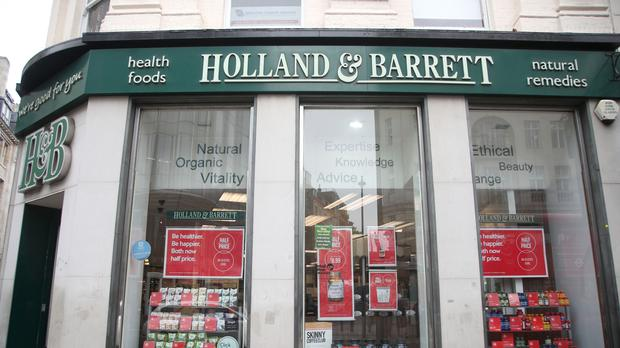 There are now 1,077 Holland and Barrett stores around the world (PA)