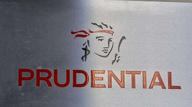 Prudential posted double-digit profit growth from its life insurance operations as it said the demerger of its UK operations remains on track.