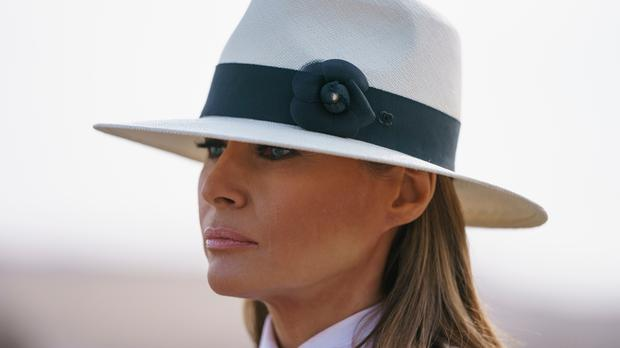 'What I want to know is, now that Melania appears to have infinite power over the entire US government, could she maybe use it to fire her husband?' AP photo