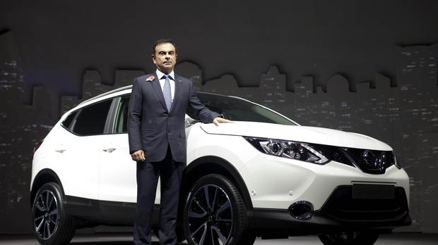 File picture of Nissan chief executive Carlos Ghosn (David Parry/PA)