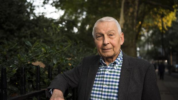 Frank Field MP in Westminster, London, after resigning from the Labour party over the anti-Semitism crisis.