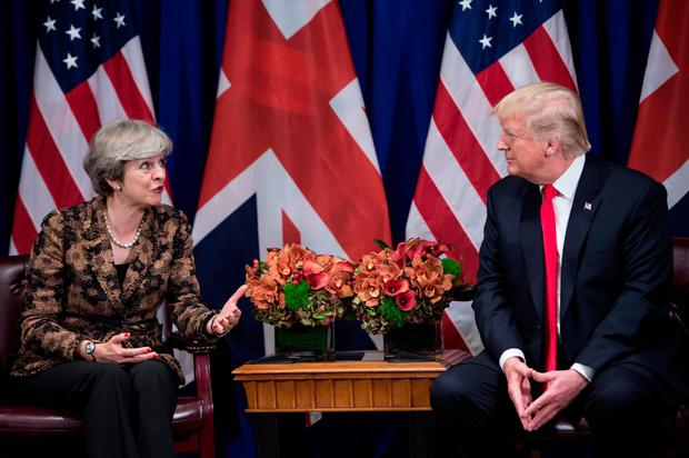 Election probe: Release of Trump files risks a split with Theresa May's UK