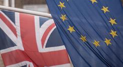Brexit concerns weighed on business sentiment in the run-up to yesterday's Withdrawal Agreement deal in Brussels, and retailers in the Border area are the most downbeat in the country. Stock photo: PA Wire/PA Images
