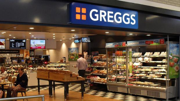 Shares in bakery chain Greggs soared after it upped its full-year profit outlook thanks to a rise in sales after strong autumn trading (Greggs/PA)