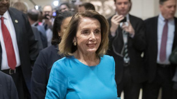 House Democratic Leader Nancy Pelosi (J. Scott Applewhite/AP)