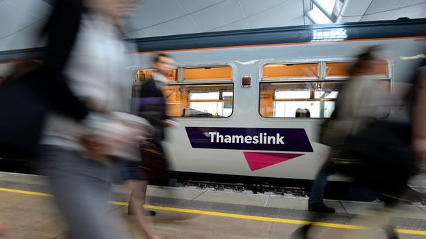 Go-Ahead praised improvement in the Thameslink rail service following timetable chaos (Andrew Matthews/PA)