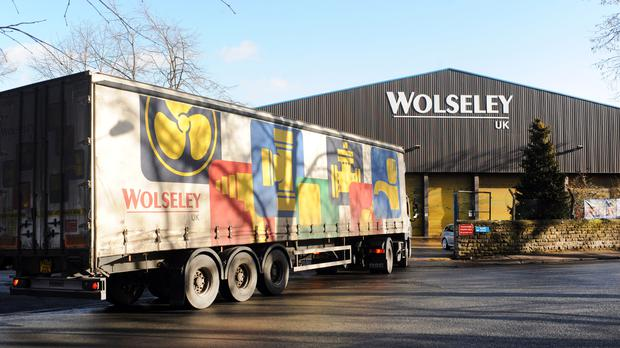 Ferguson, which still trades in the UK under the Wolseley name has had a good first quarter (Ann Gowthorpe/PA)
