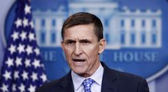 National Security Adviser Michael Flynn participated in 19 interviews with prosecutors (AP file Carolyn Kaster)
