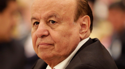 The president of Yemen, Abed Rabbo Mansour Hadi. Photo: AP