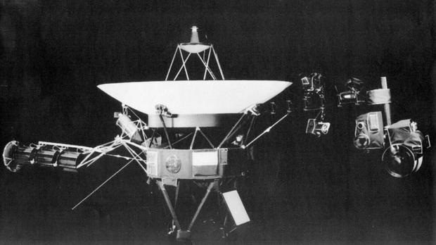 The Voyager spacecraft (Jet Propulsion Lab/AP)