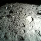 The rovers took photos of the surface of asteroid Ryugu (JAXA/AP)