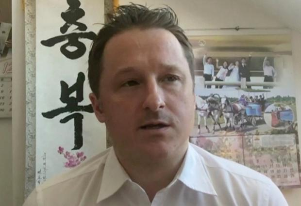 No-show: Michael Spavor had been due in Seoul but failed to show after being detained. AP photo