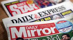 Daily Mirror publisher Reach has said its 2018 performance will be ahead of market expectations following its takeover of the Daily Express and other titles (Yui Mok/PA)