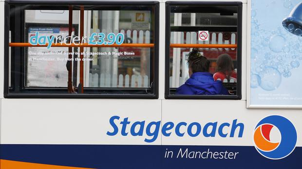 Bus and rail giant Stagecoach has agreed to sell its under-pressure US business in a deal valuing the division at 271.4 million US dollars (£214.4 million) (PA)