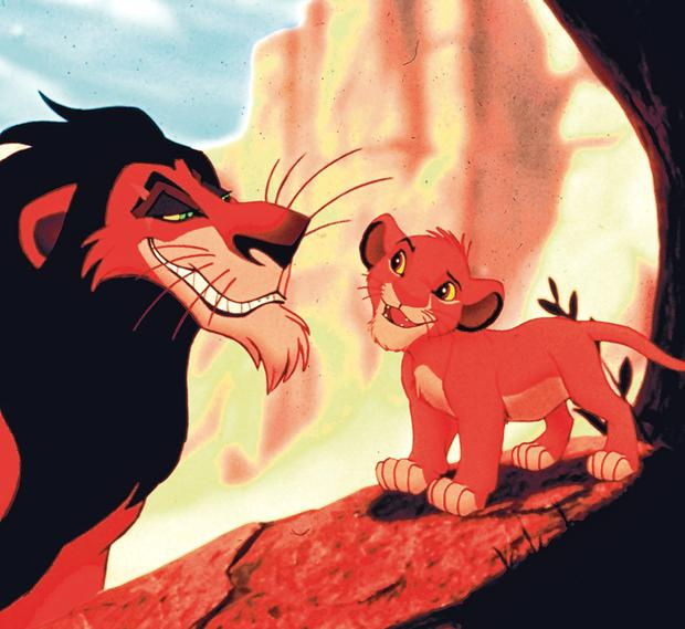 Roaring success: The 1994 film 'The Lion King' was a massive box-office hit