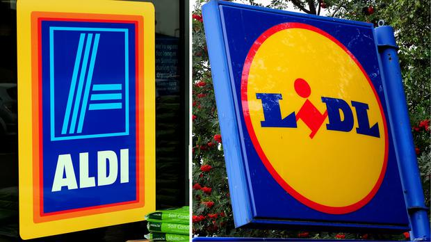 Aldi and Lidl are vying with the big four for Christmas trade (PA)