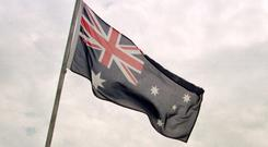The 29-year-old was on the carriageway in the suburb of Scarborough when he was hit by a car driven by an 18-year-old man, Western Australia Police said. Stock photo: Australian flag