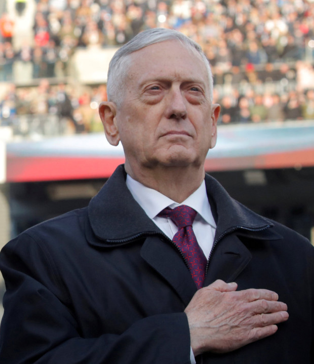 Resigned: Jim Mattis quit as US defence secretary after Syria pullout. Photo: Reuters