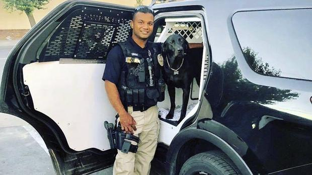 Officer Ronil Singh of Newman Police Department (Stanislaus County Sheriff's Department/AP)