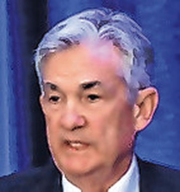 Fed head: Jerome Powell, US Federal Reserve chairman, will refuse to quit. Photo: Reuters