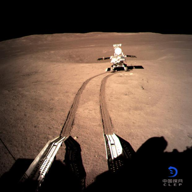 Chinese Lunar Rover Sleeps After Rolling on Far Side of the Moon